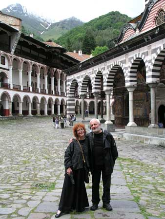kaadeKUNST and Lessedra at Rila Monastery