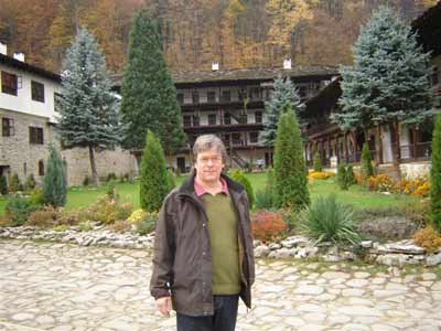 Barry in Troyan Monastery