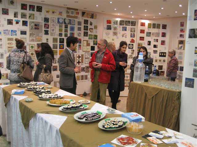 SUSHI PARTY - Official Ceremony for the opening of the exhibition with visiting artist Masahiko Hayashi, Japan